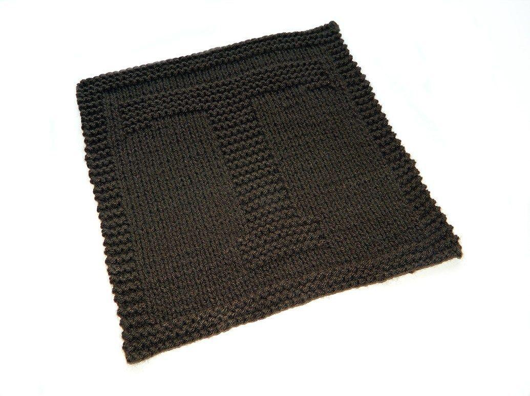 ALPHABET DISHCLOTH: T   Knitting blogs, Easy knitting ...