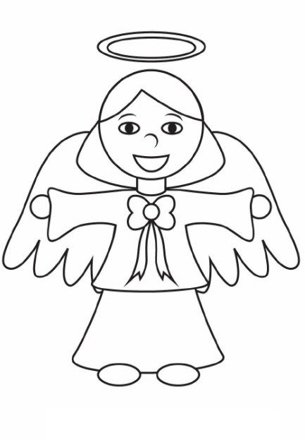 Angel Coloring Pages Download Freecoloring Pagesorg