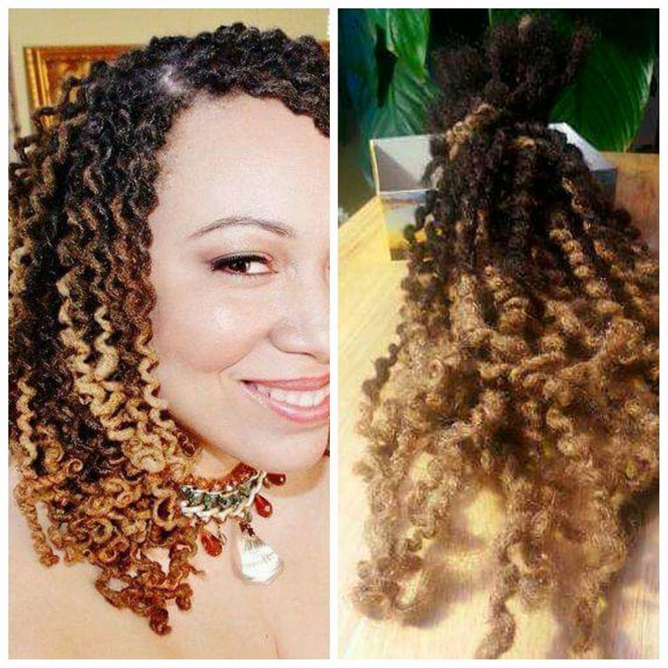 Human Hair Dreadlocks Ombre Full Head Goddess Faux Locs