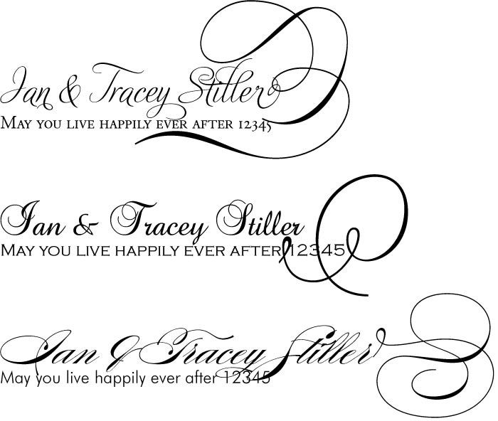 Wedding Font Pairings