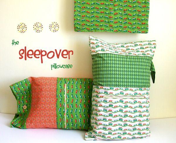 The Sleepover Pillowcase Tutorial