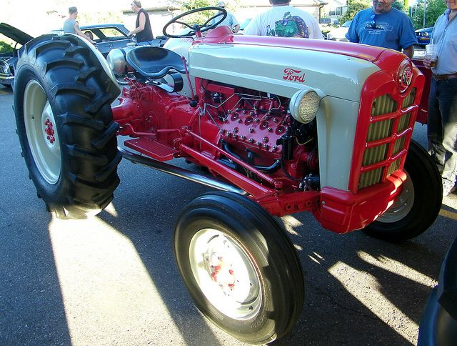 1953 Ford Naa Tractor Flathead V8 Tractors Ford Tractors Old Tractors