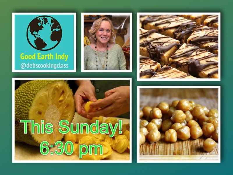 Debs cooking class is this sunday everyday vegan