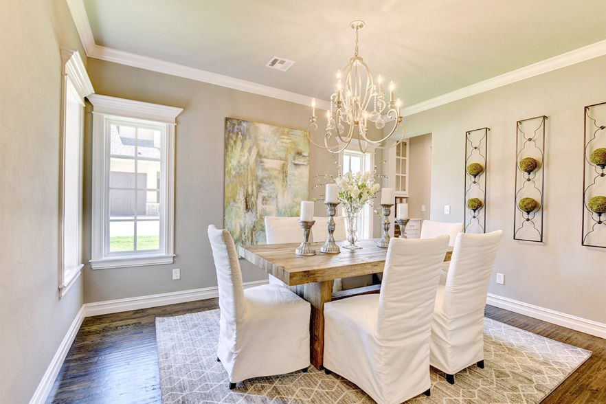 Lovely Layout New Home In Jenks Haddington Heights Features
