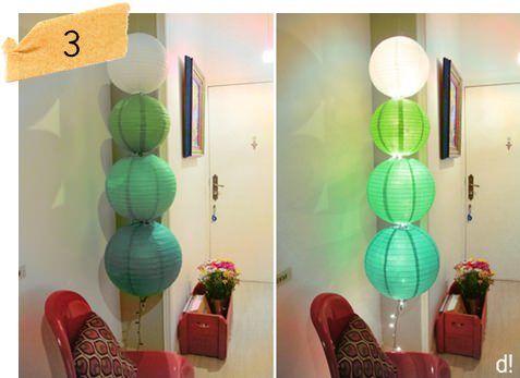 decoração do quarto com lanternas japonesas - Pesquisa Google