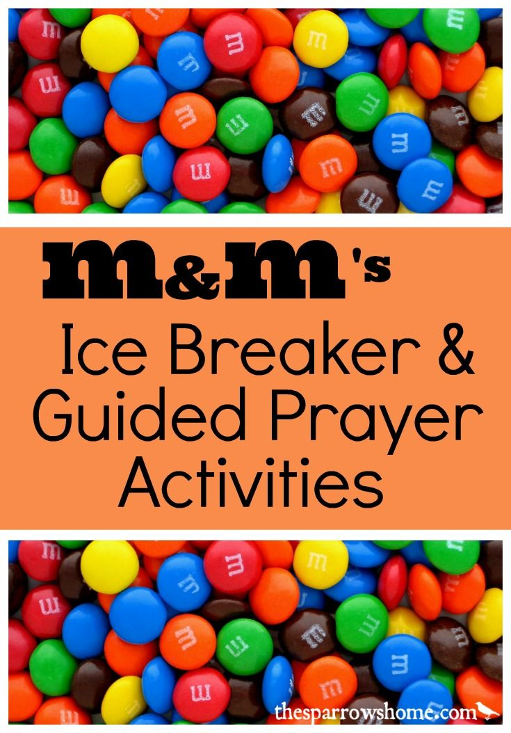 M Ms Ice Breaker And Guided Prayer Activities The Sparrow S Home Sunday School Games Ice Breakers Christian Game Tags are text labels that help us organize our games by theme, storyline prayer games. m ms ice breaker and guided prayer