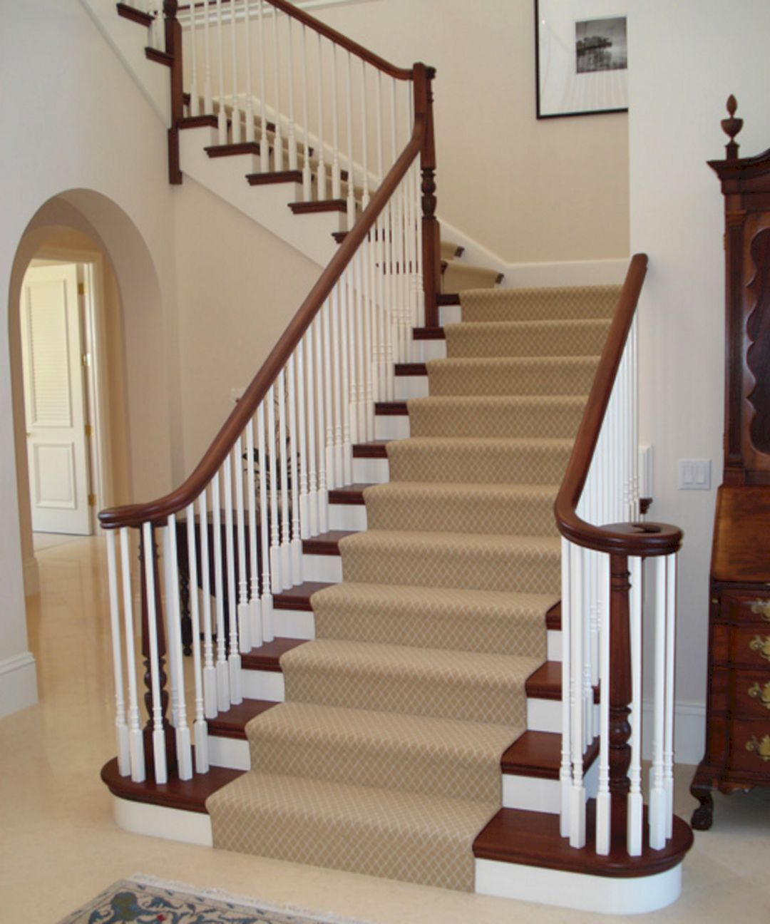 ... Beautiful Stairway Decorating Ideas For Attractive Your Home  Https://decoredo.com/8698 45 Beautiful Stairway Decorating Ideas For  Attractive Your Home/