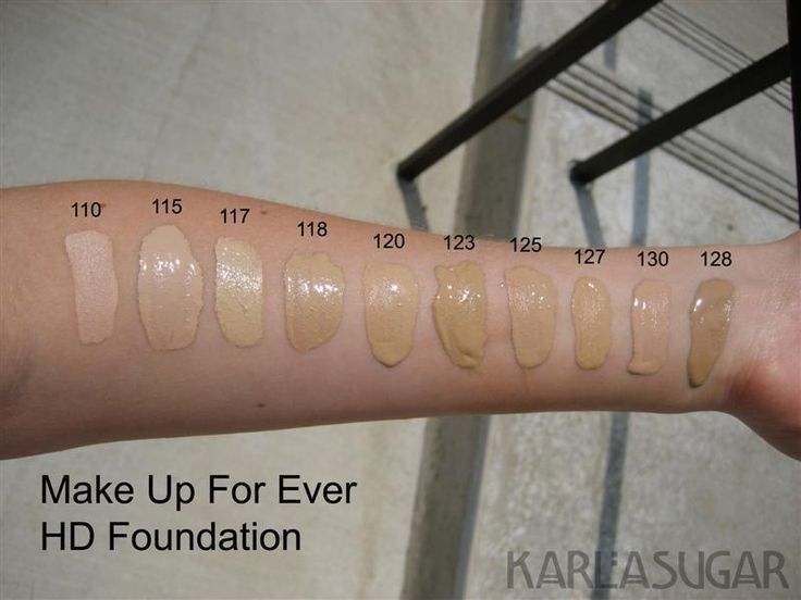 Hd Invisible Cover Foundation 118 Makeup Makeup
