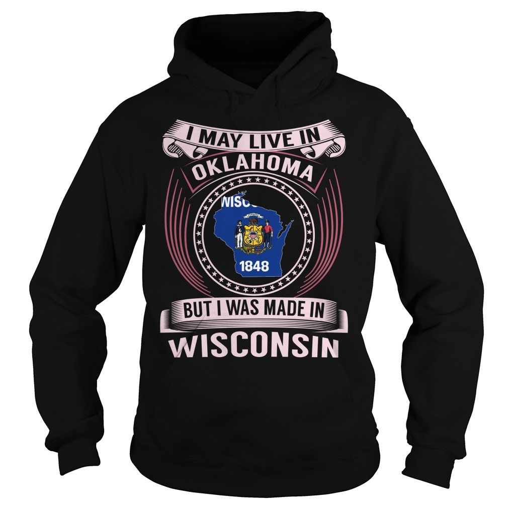 Live in Oklahoma - Made in Wisconsin (Pink)