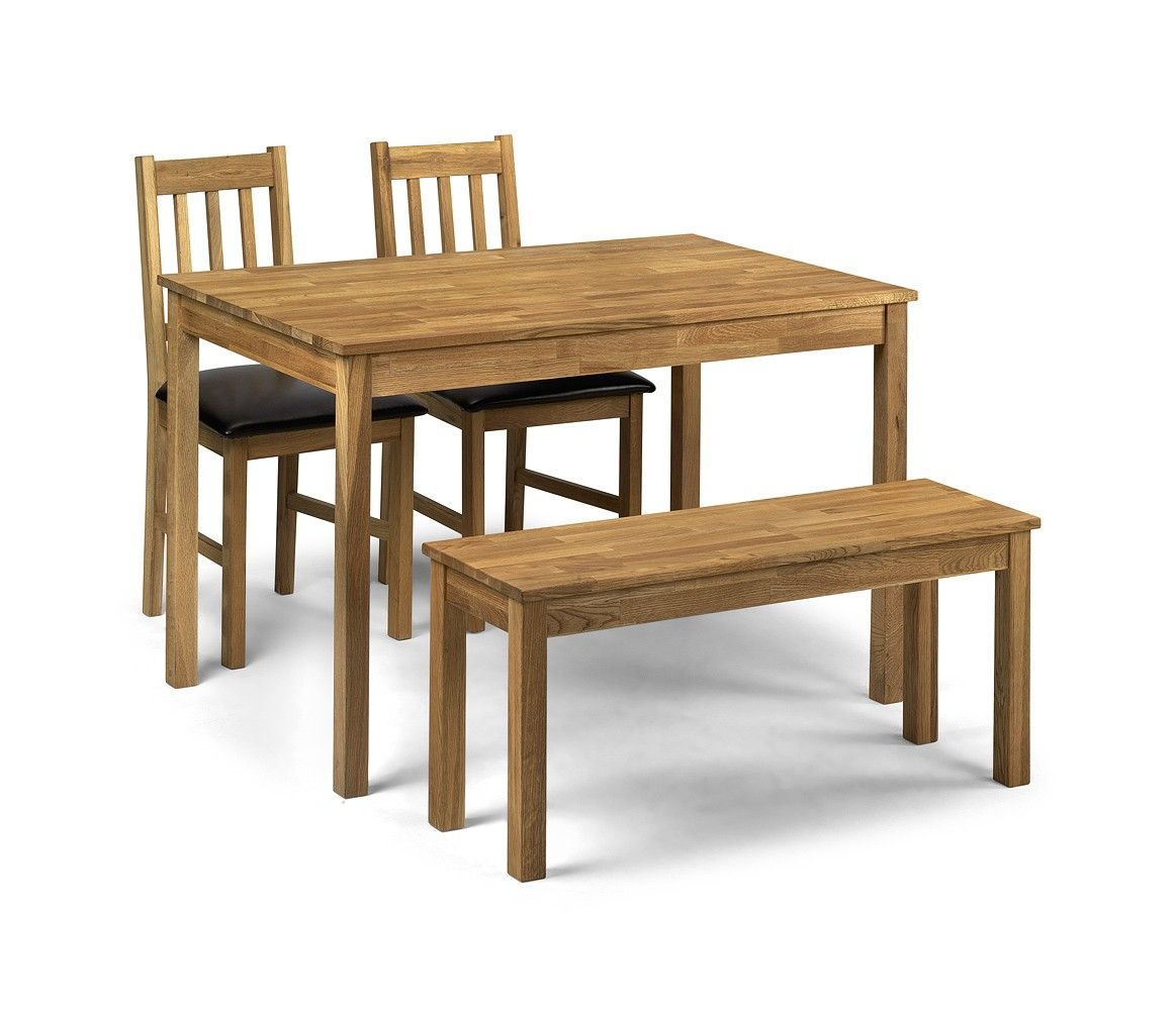 Coxmoor Rectangular Table 2 Chairs And A Bench Dining Table