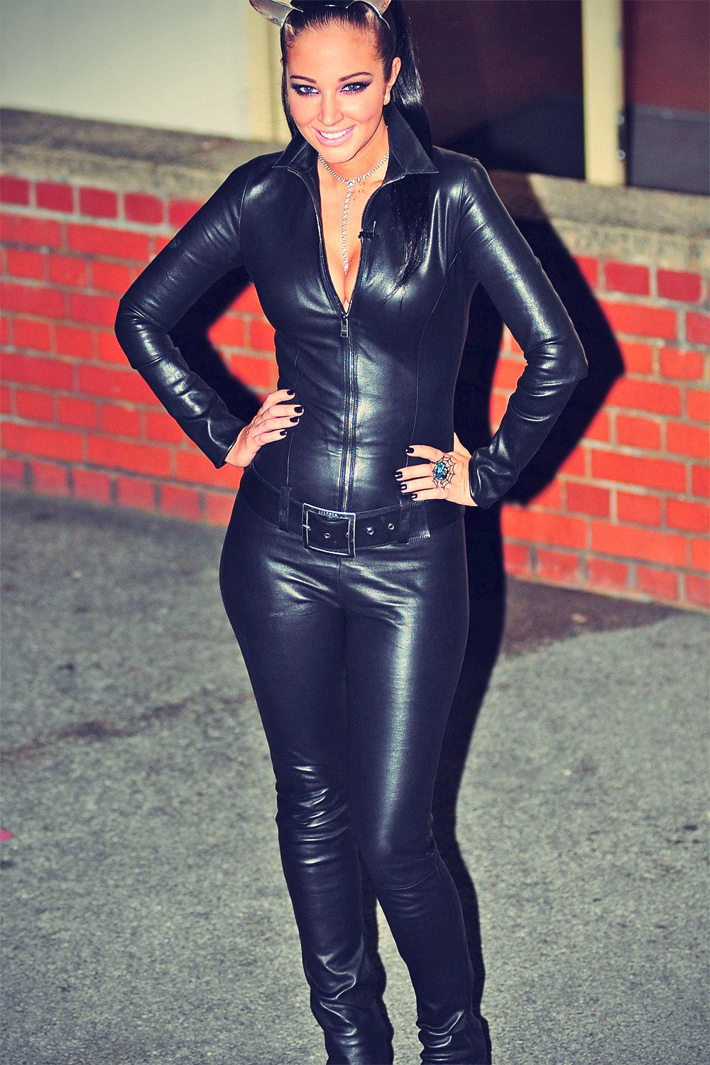 Letters In Latex%0A Tulisa Contostavlos at X Factor Studios
