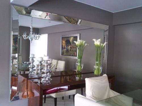 Espejos decorativos para sala comedor pinterest for Espejos horizontales para comedor