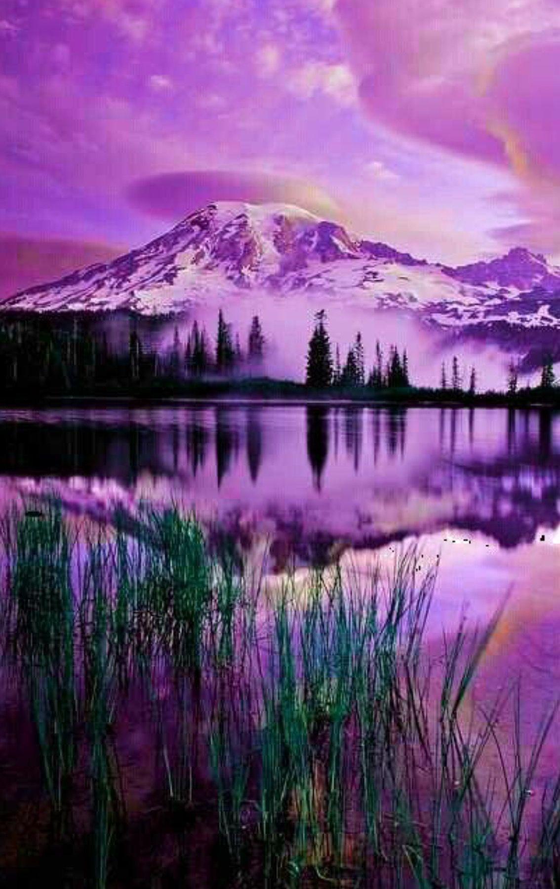 Just Another Beautiful Purple Day Beautiful Nature Beautiful Landscapes Nature Photography