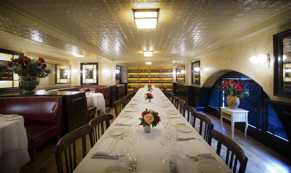 The private dining room at Balthazar London   Private Dining Rooms ...