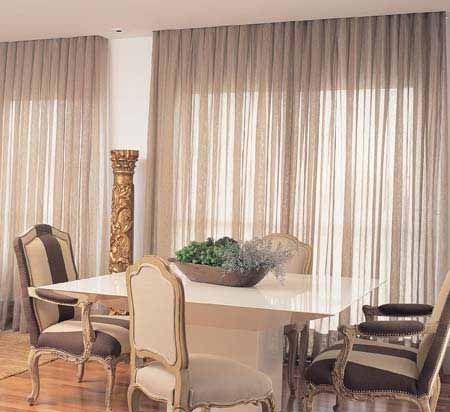 Cortinas para sala com tecido voll Deco Pinterest - ideas de cortinas para sala