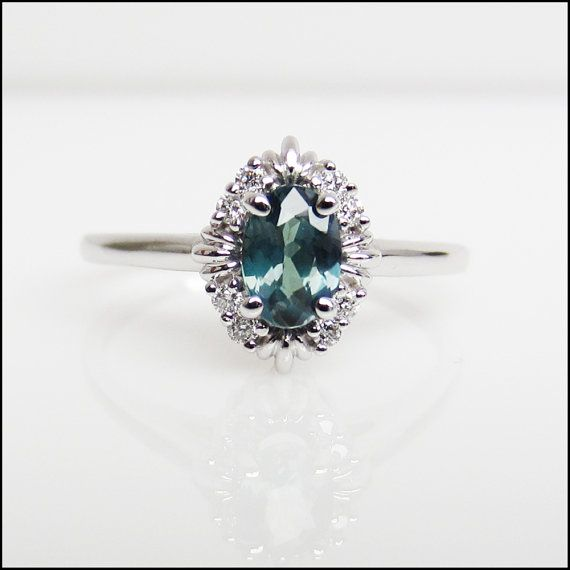 customize wedding ring alexandrite non traditional engagement ring by 3260