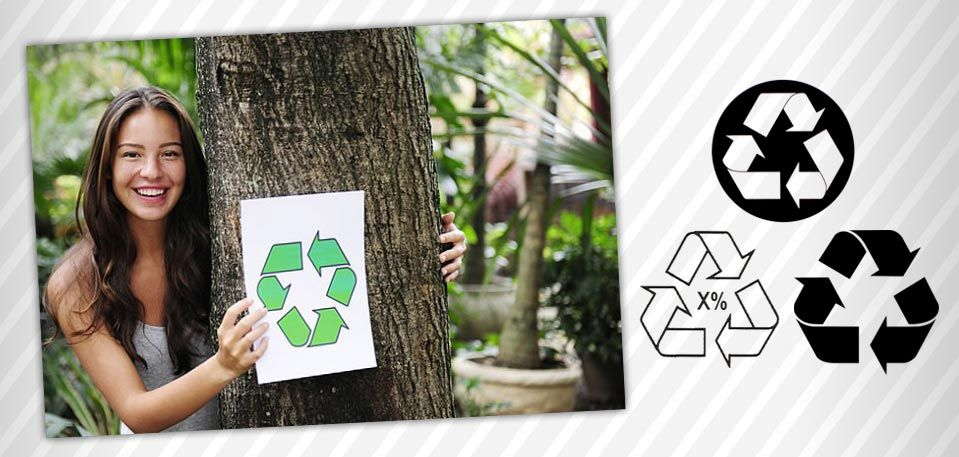 Logos de reciclaje #logo #reciclado #reciclaje #logodereciclaje #mobius #bandadeMöbius #circulodeMöbius