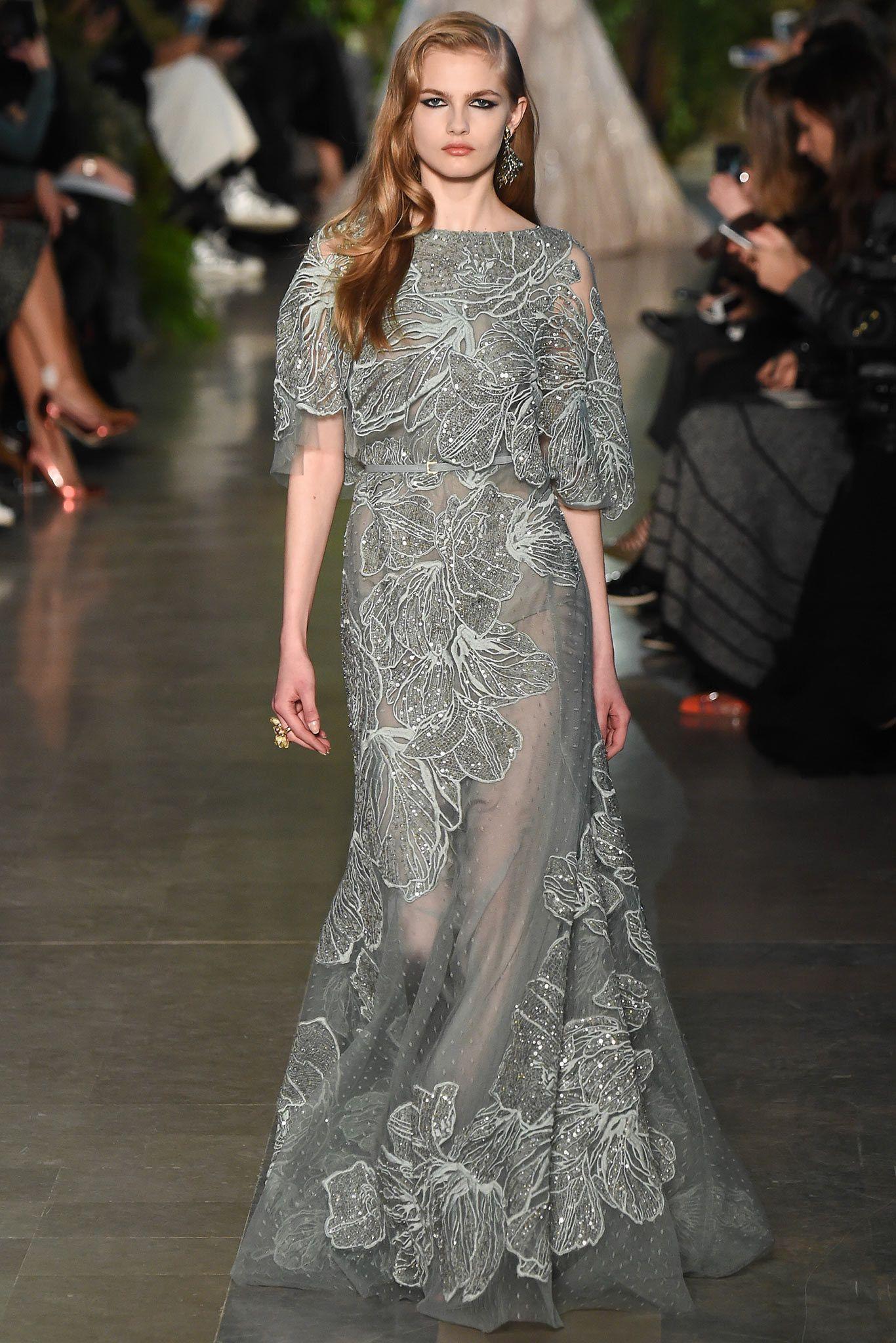 Elie Saab Spring 2015 Couture Fashion Show | Elie saab couture, Elie saab  spring, Elie saab