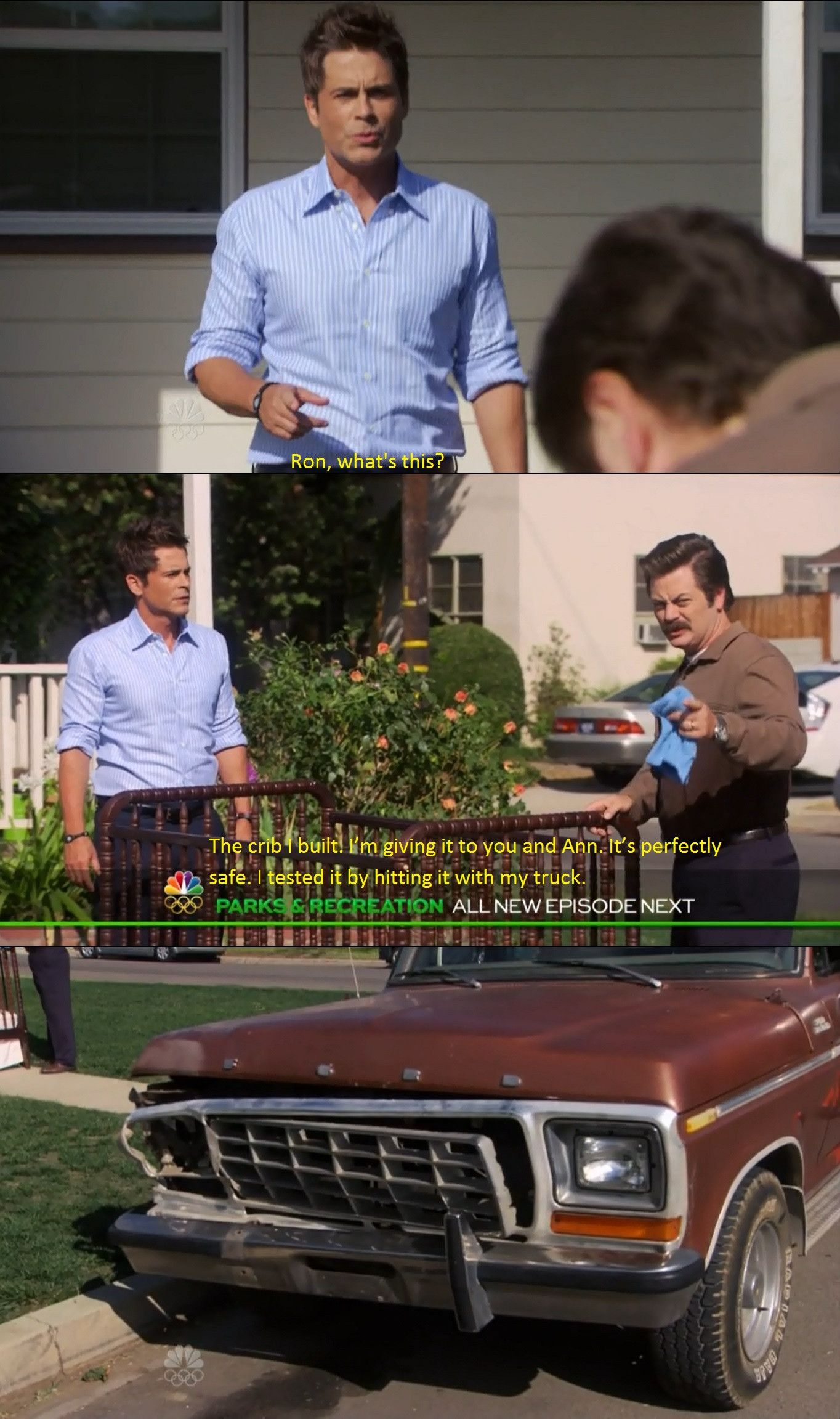 Ron swanson dating quotes