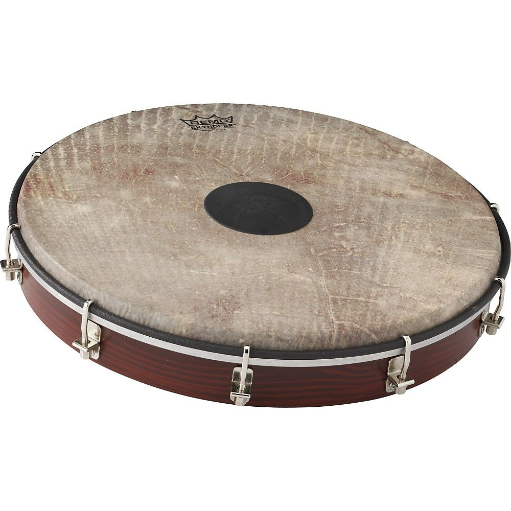 Remo Tablatone Frame Drum Brown and White Skyndeep Fish Skin 12 in ...