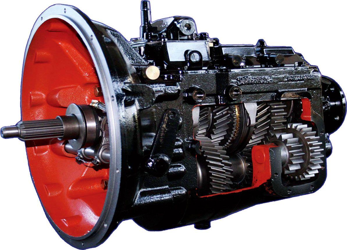 Naturally, manual transmissions contain lots of slick