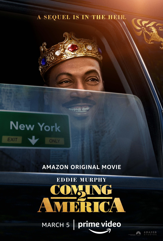 Teaser Trailer For Amazon Original Movie Coming 2 America Starring Eddie Murphy Arsenio Hall Vanndigital Eddie Murphy America Movie Prime Video