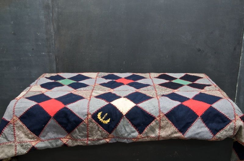 Vintage American Crafts Cottage Quilt : 20th Century Vintage Industrial : Modern Fifty