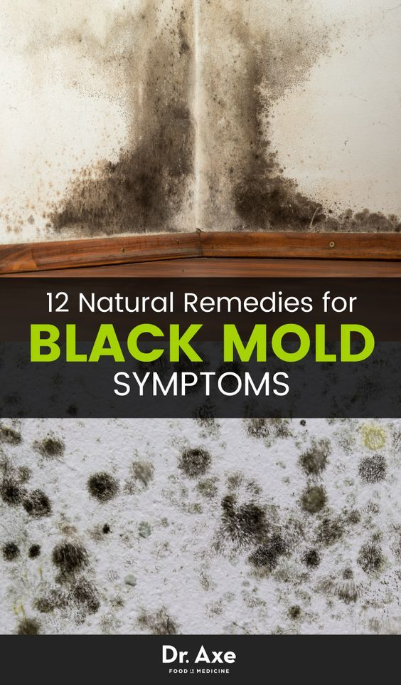 8 Signs You Need A Black Mold Detox Black Mold Symptoms Black Mold Exposure Mold Remover