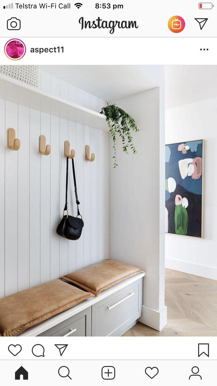 Mini Mudroom Playroom In 2019 Mudroom Utility Room Designs ...