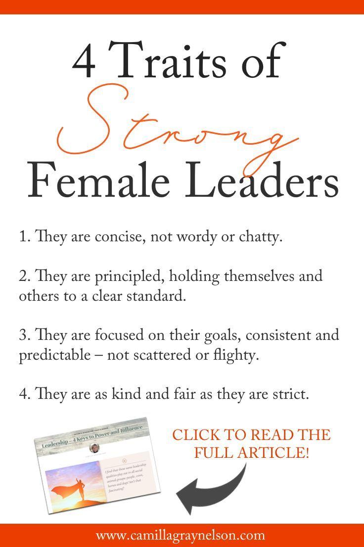 Leadership – 4 Keys to Power and Influence - Camilla Gray-Nelson