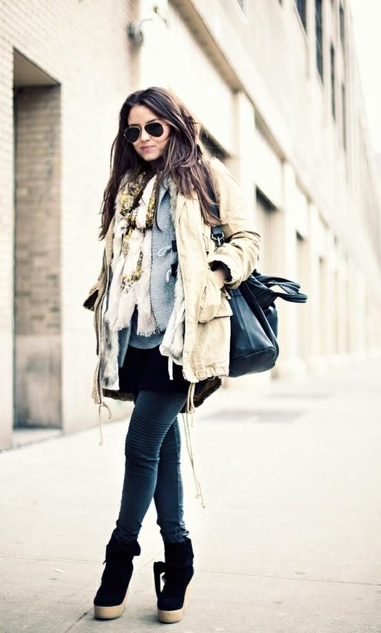 Street Style Layers.