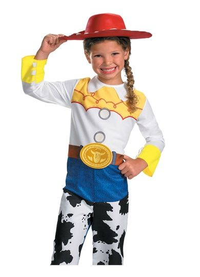 Disney Toy Story Cowgirl Jessie Classic Licensed Child Girls - cute childrens halloween costume ideas