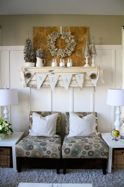 Mantle For A Living Room Without Fireplace