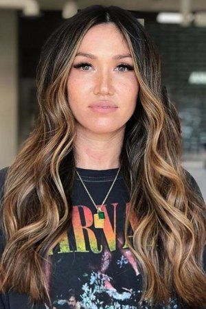"""Sunlight Brunette"" Is the Most Low-Maintenance Color for Summer—Here are 12 Pretty Examples to Show Your Stylist -   18 hair Brunette honey ideas"