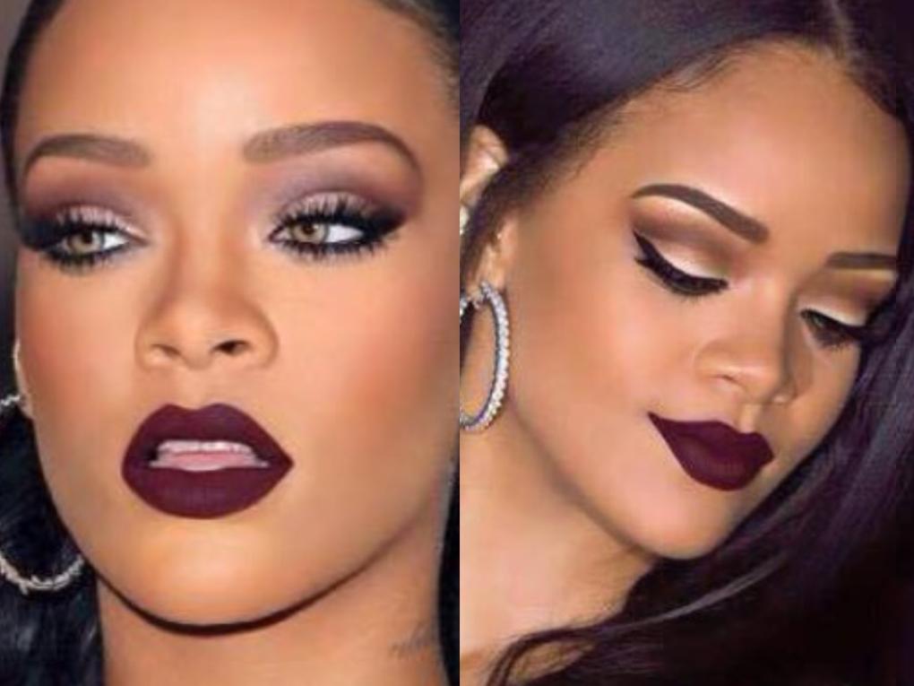 Rihanna Makeup Archives TashieTinks Rihanna makeup