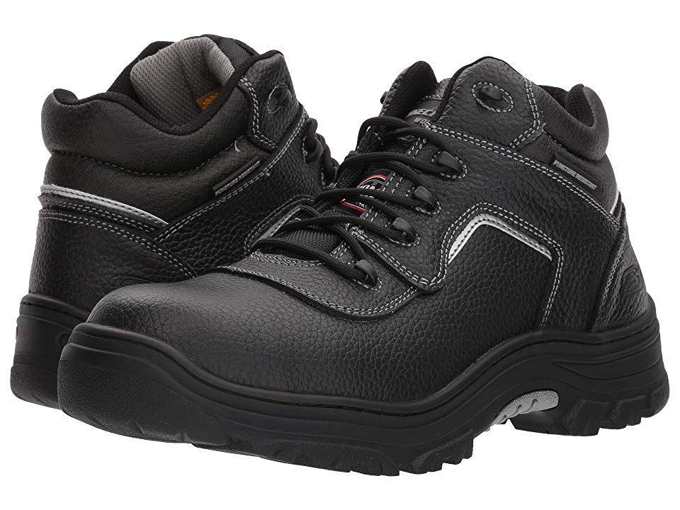 Skechers work burgin sosder mens industrial shoes black