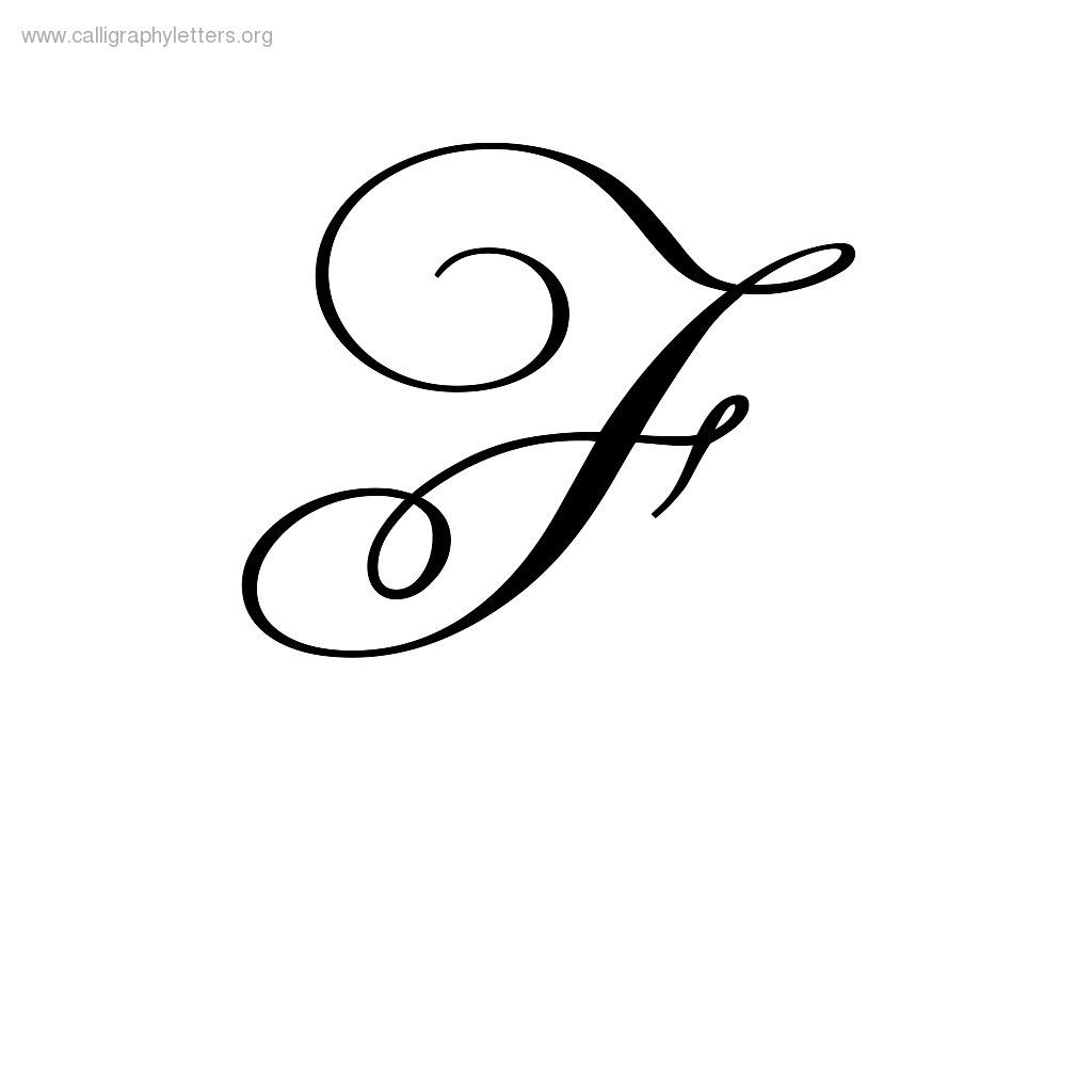 Cursive F | Tattoos | Calligraphy letters, Cursive tattoos ...
