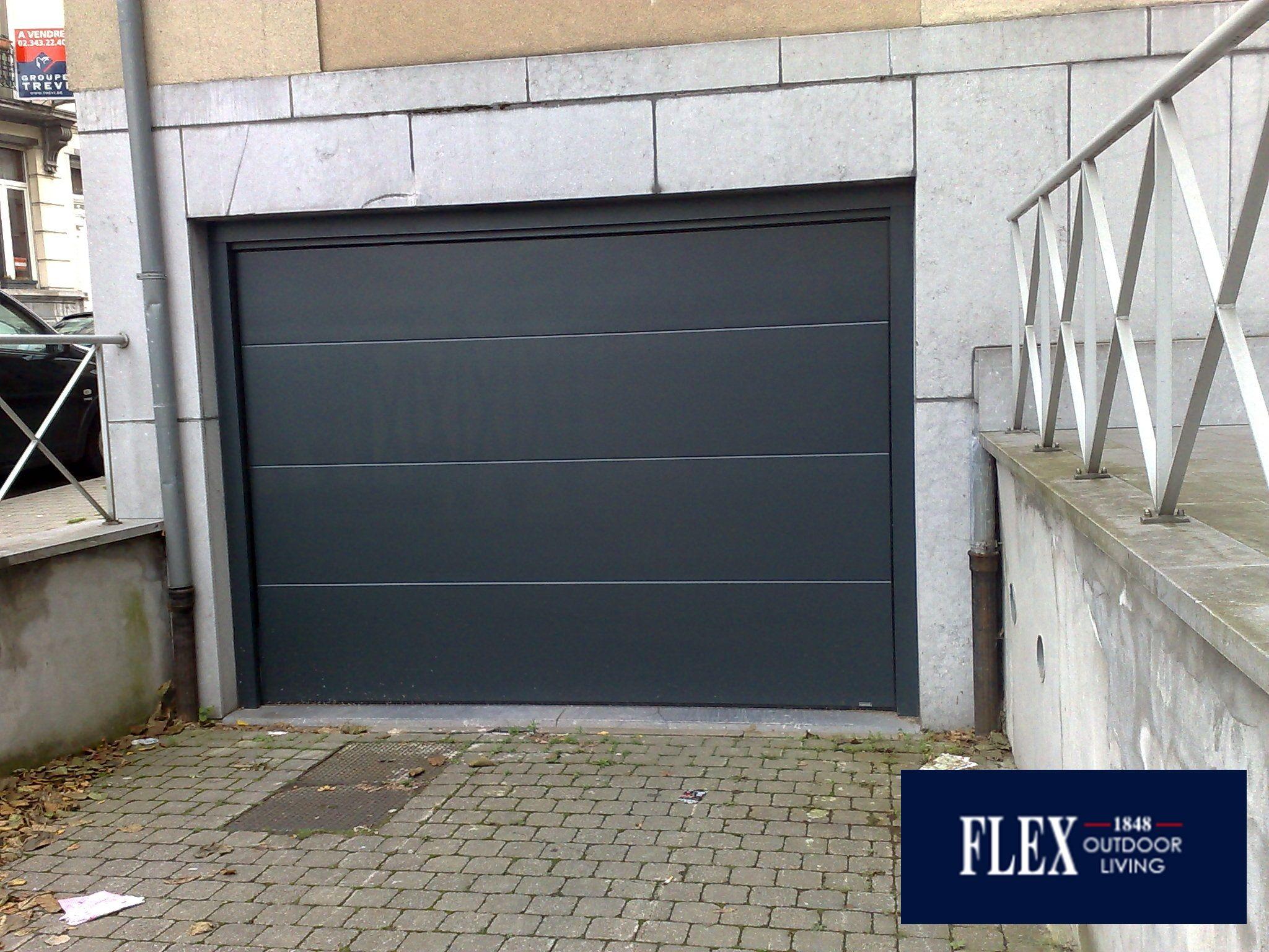 Porte De Garage Sectionnelle Flex 1848 Porte Garage Porte