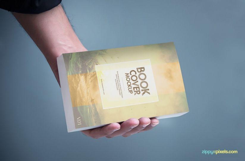 14 Softcover Book Mockup Psds For Paperbacks Ebooks Front
