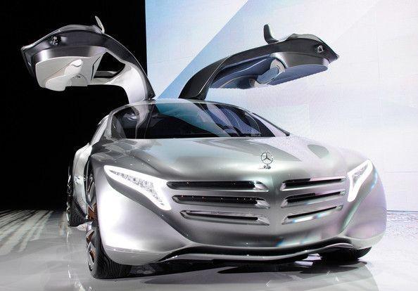 mercedes benz f500 concept car