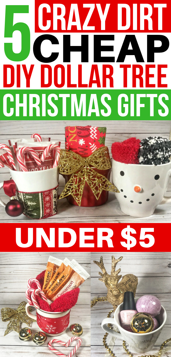 5 Cheap DIY Christmas Gifts From The Dollar Store Under $5 - Savvy Honey -  - #Cheap #Christmas #Diy #Dollar #Gifts #Honey #Savvy #Store #teacherchristmasgiftideas