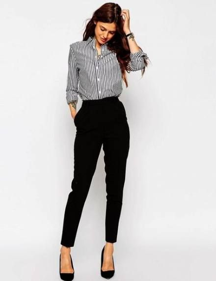 Trendy womens business attire work outfits pants ideas #womensbusinessattire