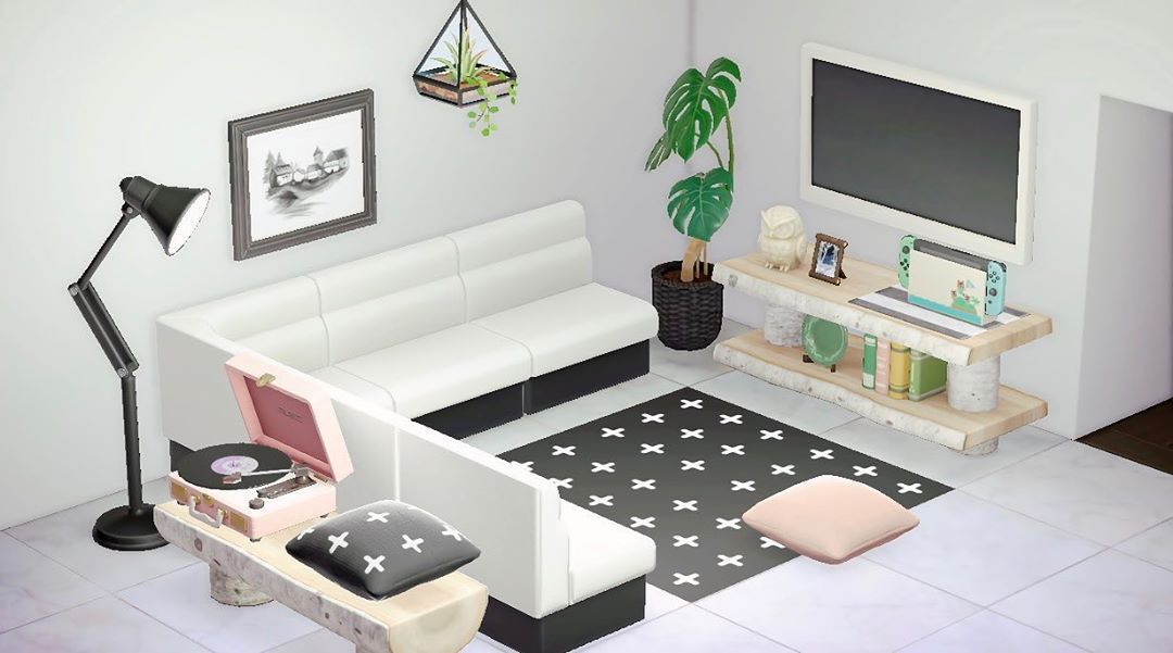 Animal Crossing New Horizons On Instagram Love This Room So Much The Design Is Custom Credit In 2020 Animal Crossing 3ds Animal Crossing Animal Crossing Villagers