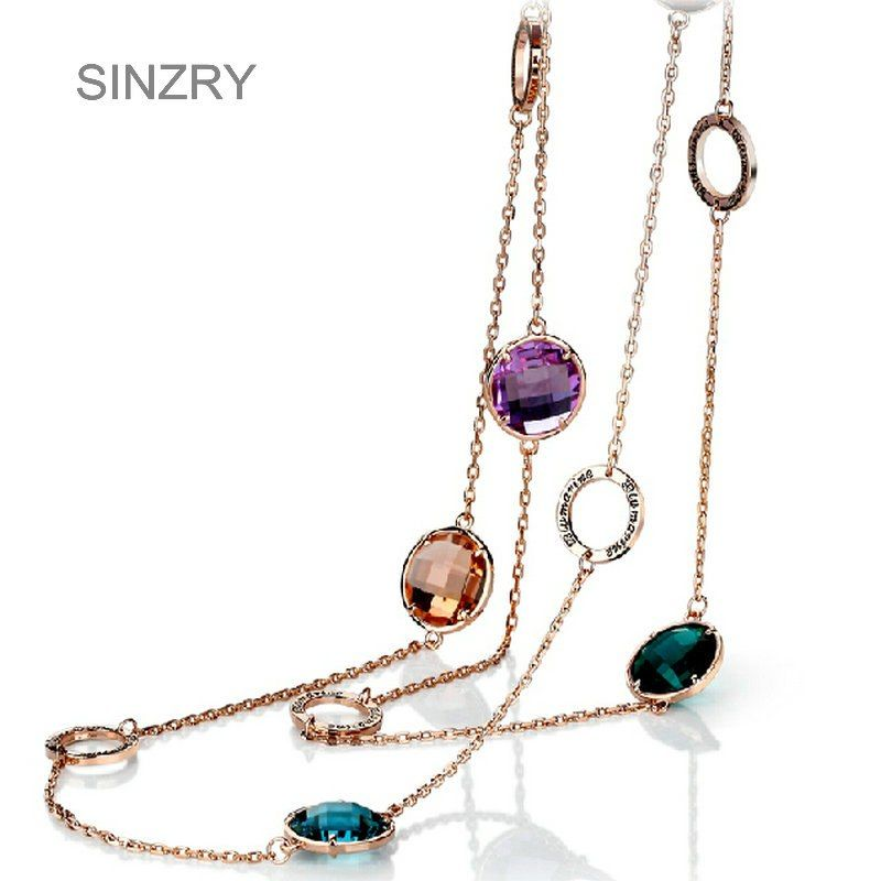 547d53cbdcda5 Artilady natural opal stone moon choker necklace fashion gold color ...