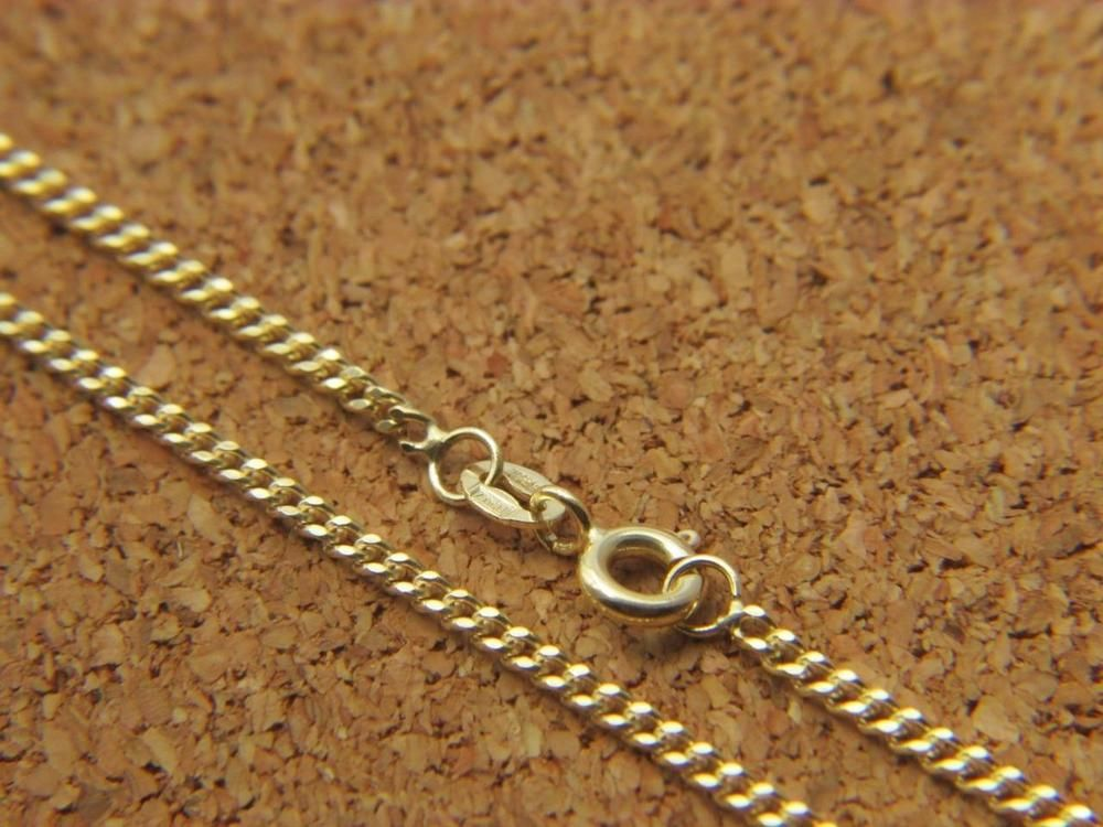 necklaces on item in curb plated gold thick chain wholesale cuban link accessories real from necklace chains jewelry men