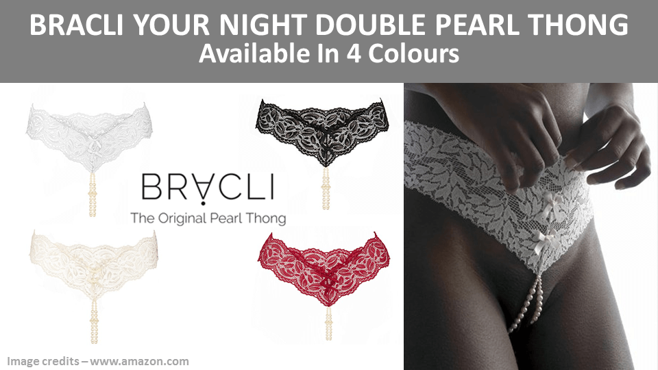 2025710f2 Your Night  Bracli  Pearl  Thong - Very similar to the original