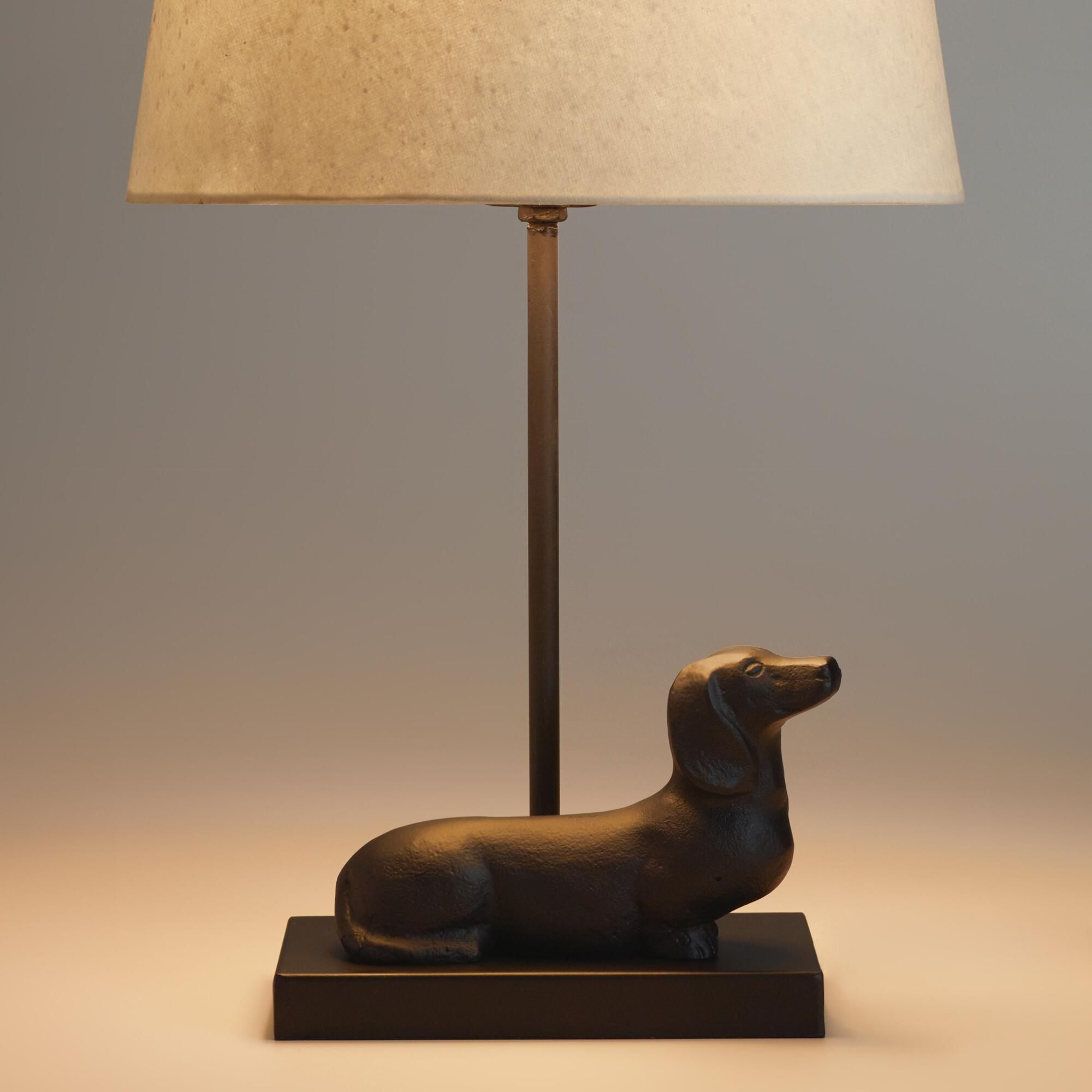 Dachshund Accent Lamp Base Lamp Accent Lamp Lamp Bases
