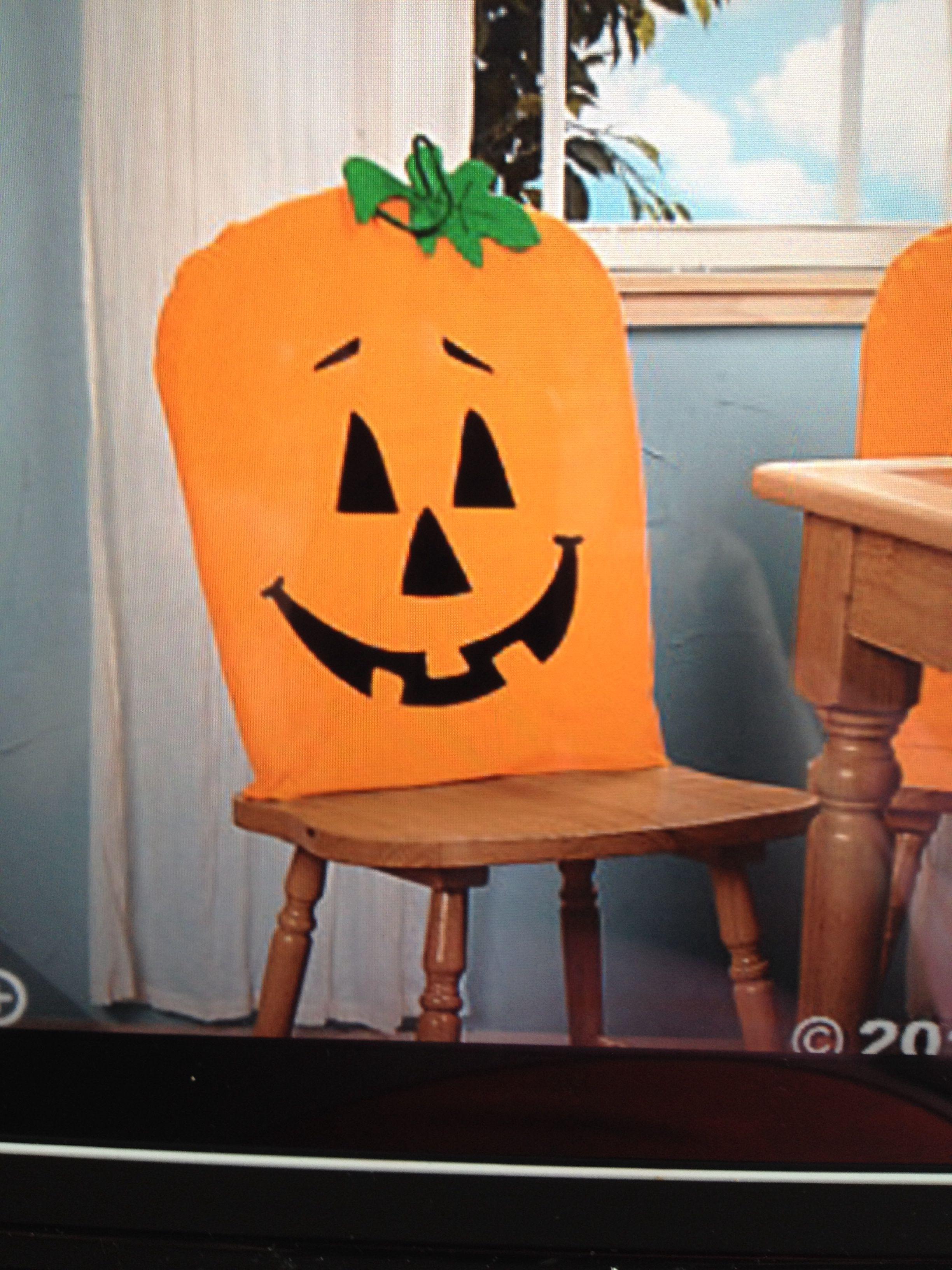 Pumpkin Chair Cover Chair Covers Chair Covers