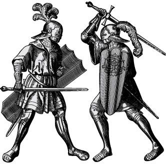 Vector gratis de Caballeros medievales | Tatuaje medieval, Dibujos  medievales, Caballeros medievales