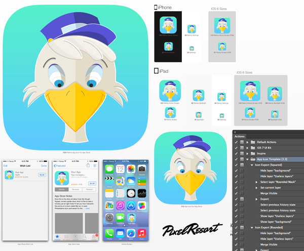 How to Create an App Icon in Adobe Illustrator App icon